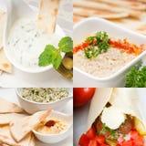 Raccolta dell'alimento di Medio Oriente dell'arabo Immagini Stock Libere da Diritti