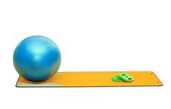 Raccolta dell'attrezzatura di forma fisica Immagine Stock