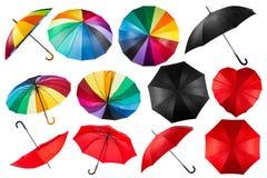 Raccolta dell'ombrello Immagini Stock Libere da Diritti