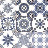 Raccolta dell'ornamento del pavimento non tappezzato royalty illustrazione gratis