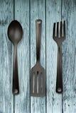 Raccolta dell'utensile della cucina Fotografie Stock Libere da Diritti