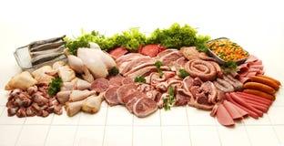 Raccolta della carne Fotografie Stock