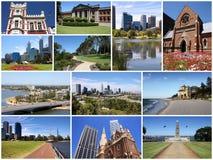 Raccolta della foto di Perth Fotografie Stock Libere da Diritti