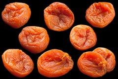 Raccolta della frutta dell'albicocca secca Immagini Stock Libere da Diritti