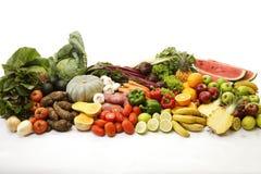 Raccolta della frutta e della verdura Fotografia Stock