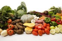 Raccolta della frutta e della verdura Fotografia Stock Libera da Diritti