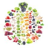 Raccolta della frutta e delle verdure Fotografia Stock