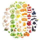 Raccolta della frutta e delle verdure Fotografia Stock Libera da Diritti