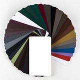 Raccolta della guida colourful di colore isolata su fondo bianco Fotografia Stock Libera da Diritti