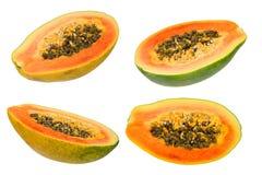Raccolta della papaia Fotografie Stock