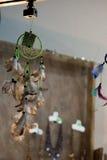 Raccolta della piuma di uccello variopinta Immagini Stock Libere da Diritti