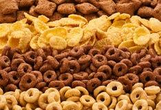 Raccolta della prima colazione dei cereali Immagine Stock Libera da Diritti