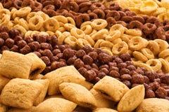 Raccolta della prima colazione dei cereali Fotografie Stock