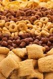 Raccolta della prima colazione dei cereali Fotografia Stock Libera da Diritti