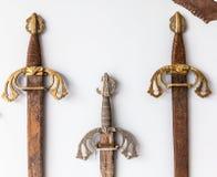 Raccolta della spada Fotografie Stock Libere da Diritti