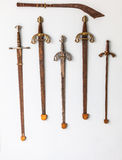Raccolta della spada Fotografia Stock Libera da Diritti