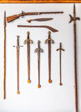 Raccolta della spada Fotografie Stock
