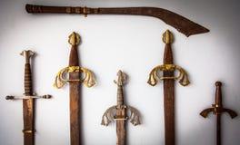 Raccolta della spada Immagine Stock