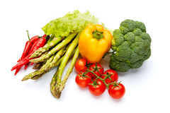 Raccolta della verdura della vitamina Fotografia Stock