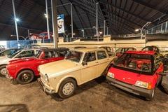 Raccolta delle automobili al museo dell'auto degli emirati Immagini Stock Libere da Diritti