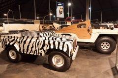 Raccolta delle automobili al museo dell'auto degli emirati Fotografie Stock