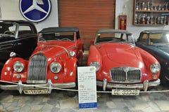 Raccolta delle automobili Salvador Claret immagine stock libera da diritti