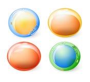 Raccolta delle cellule per la vostra progettazione illustrazione di stock