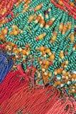 Raccolta delle collane eleganti e brillanti Fotografia Stock