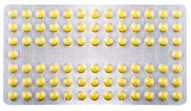 Raccolta delle droghe in pacchetti Fotografia Stock Libera da Diritti