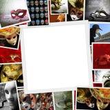 Raccolta delle foto di carnevale Fotografie Stock