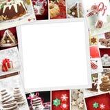 Raccolta delle foto di Natale Fotografia Stock