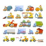 Raccolta delle icone di trasporto Fotografia Stock