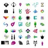 Raccolta delle icone di vettore per l'affare e il financ Immagini Stock Libere da Diritti