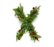 Raccolta delle lettere di Natale Fotografia Stock