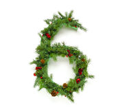 Raccolta delle lettere di Natale Immagine Stock