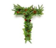Raccolta delle lettere di Natale Fotografie Stock