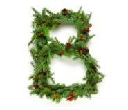 Raccolta delle lettere di Natale Fotografia Stock Libera da Diritti