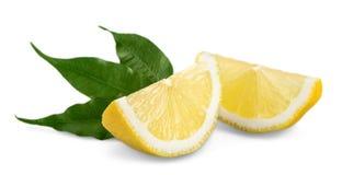 Raccolta delle limette e dei limoni freschi - collage Fotografie Stock Libere da Diritti