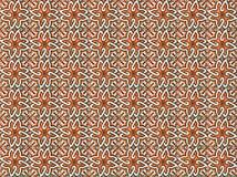 Raccolta delle mattonelle arancio dei modelli fotografia stock libera da diritti