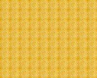 Raccolta delle mattonelle gialle dei modelli immagine stock libera da diritti