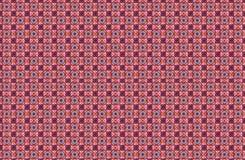 Raccolta delle mattonelle rosse e porpora dei modelli immagini stock