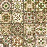 Raccolta delle piastrelle di ceramica Fotografia Stock