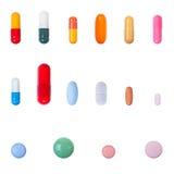 Raccolta delle pillole Fotografia Stock