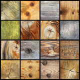 Raccolta delle plance di legno Fotografie Stock Libere da Diritti