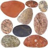 Raccolta delle rocce Fotografie Stock Libere da Diritti
