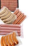 Raccolta delle salsiccie Fotografia Stock Libera da Diritti