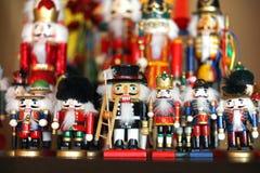 Raccolta delle schiaccianoci di Natale Fotografie Stock