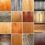 Raccolta delle strutture di legno per la vostra progettazione Immagine Stock Libera da Diritti