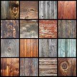 Raccolta delle strutture di legno per la vostra progettazione Immagine Stock