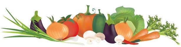 Raccolta delle verdure 3D Fotografie Stock